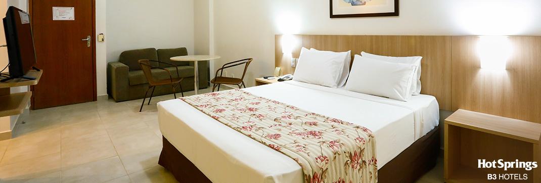 Apartamento luxo Casal - Hotsprings B3 Hotels