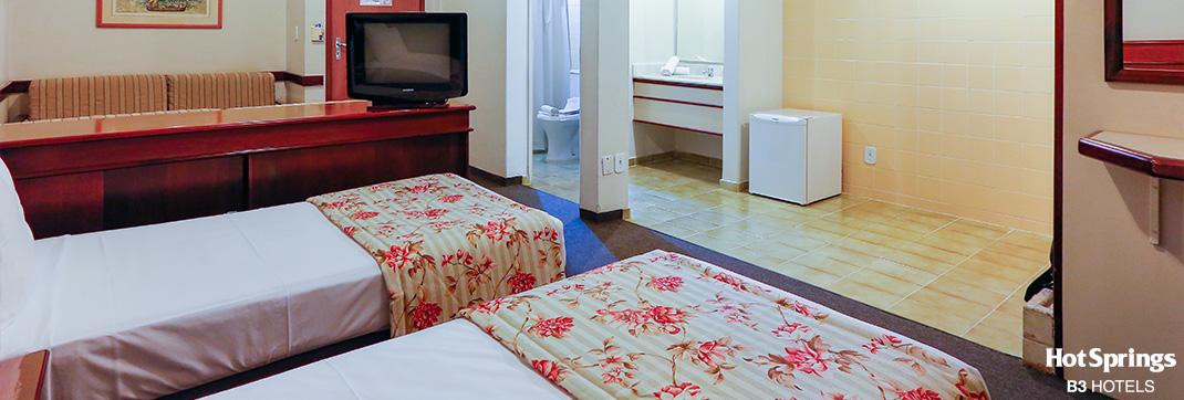 Standard Solteiro - Hotsprings B3 Hotels