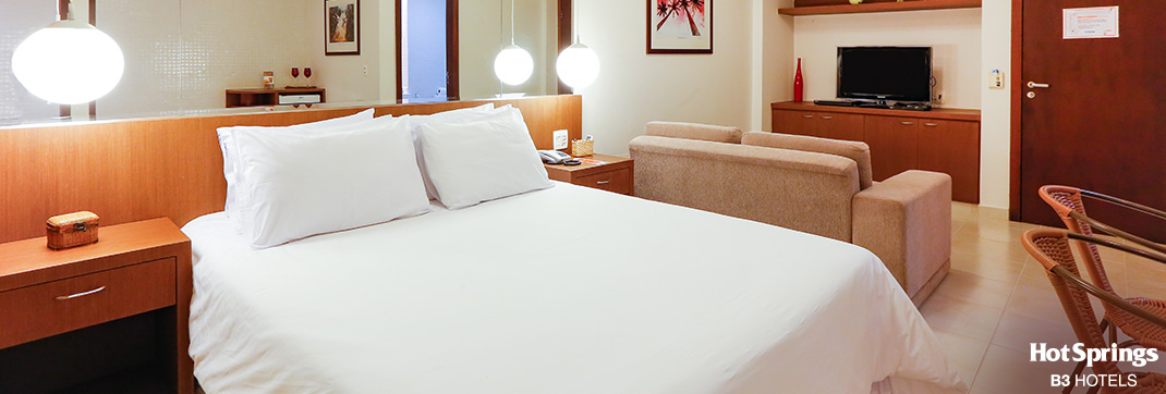 Suíte Master - Hotsprings B3 Hotels