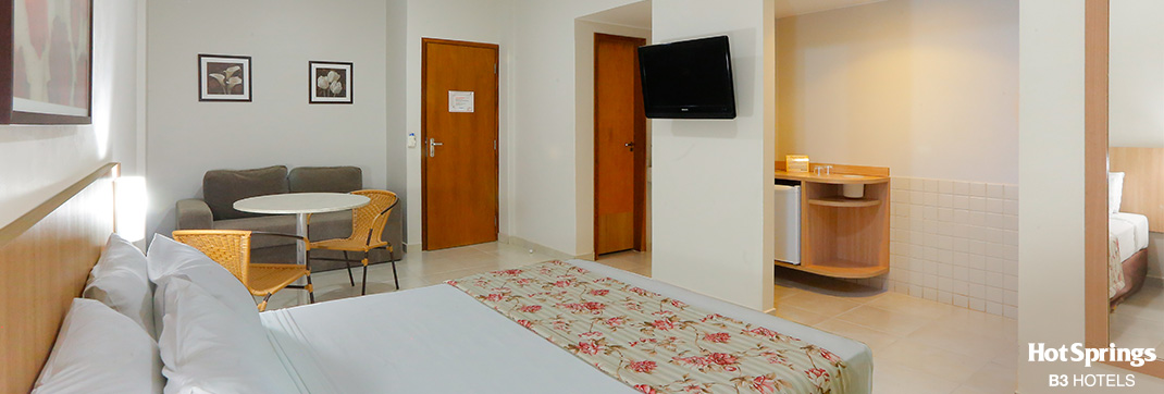 Apartamento super luxo Casal - Hotsprings B3 Hotels