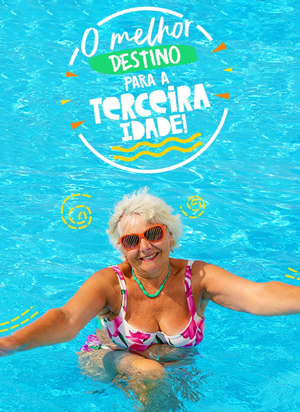 O melhor destino para a terceira idade em Caldas Novas, Goiás